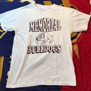 ‼️2/$10 Edmond Memorial High School Bulldogs Shirt